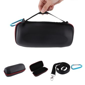 Zipper Travel Carrying Hard Case Cover Box Bag with for JBL Charge3Black - intl