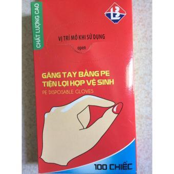 02 Hộp Găng Tay Nilon Tiện Lợi ( 1 hộp x 100 chiếc)