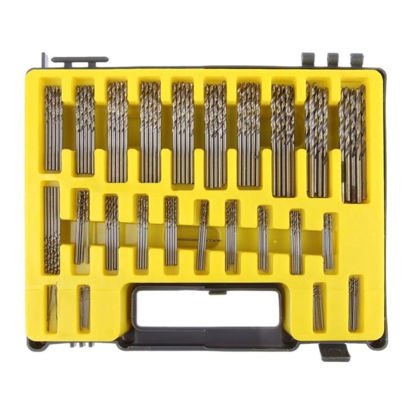 0.4mm-3.2 150pcs Mini Twist Drill Bit Kit - intl