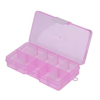 10 Grids Storage Box Detachable Jewelry Small Components Case(Pink)- intl - 8815215 , VA466HLAA4FFTRVNAMZ-8113881 , 224_VA466HLAA4FFTRVNAMZ-8113881 , 124000 , 10-Grids-Storage-Box-Detachable-Jewelry-Small-Components-CasePink-intl-224_VA466HLAA4FFTRVNAMZ-8113881 , lazada.vn , 10 Grids Storage Box Detachable Jewelry Small Comp