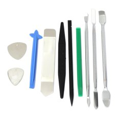 10 PCs Opening Pry Repair Tools Metal Spudger Kit Set For Apple iPhone 5S 6 iPad - intl