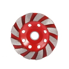 100mm Diamond Grinding Wheel Sintered Bowl Cup Disc Concrete Cutting Tool - intl