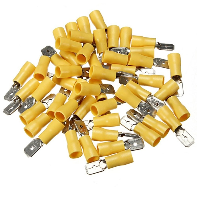 Bảng giá 100pcs Male + female Assorted Electrical Wire Terminals Connectors - intl