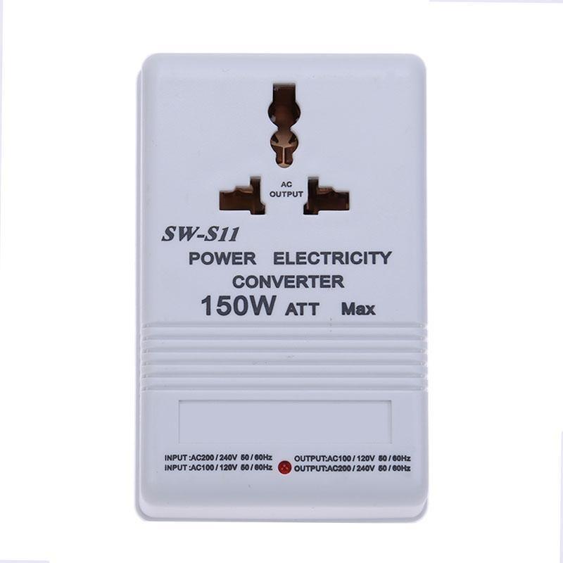 Bảng giá 150W Limited Power 220V to 110V Both-Directional Voltage Converter Adapter (White) - intl