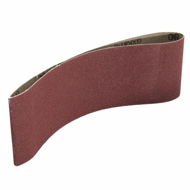 1PCS 3 x 21 80 Grit Grinding Sanding Belt Alumina Oxide Sharpening Abrasive - intl