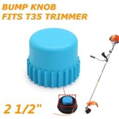 2 1/2 Bump Knob for Husqvarna T35 Trimmer Heads Replace 537185801 Blue Plastic - intl
