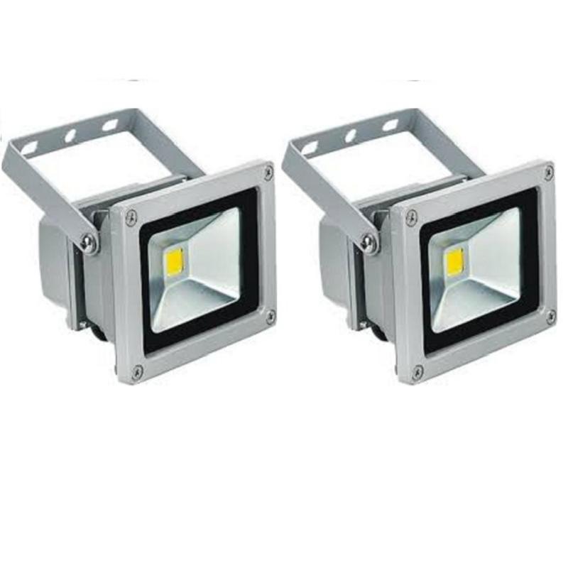 Bảng giá 2 Đèn pha LED 10W siêu sáng tiết kiệm điện (Ánh sáng trắng)