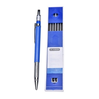 2B 2mm Lead Holder Automatic Mechanical Drawing Drafting Pencil 12 Leads Refills - intl