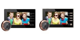 4.3 Inch Screen with No disturb function & Movement Detecting Door Bell - intl