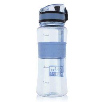 450ml Sport Travel Gym Bike Camping Fruit Infuser Water Bottle BPAFree - intl