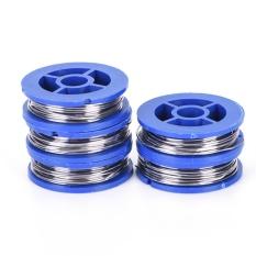 5 Rolls 63/37 Tin/Lead Rosin Core Solder Wire 0.8mm Soldering Welding 1.7m Portable - intl