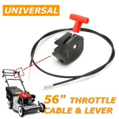 56'' Lawn Mower Throttle Cable Switch Lever Control Handle Kit for Lawnmower - intl
