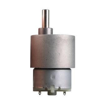 60RPM Mini Gear Box Electric Motor 12V DC 37MM High Torque - Intl
