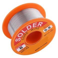 63/37 Rosin Core Solder Wire Flux 2% Tin Lead Solder Iron Welding Wire Reel (0.8mm) - intl