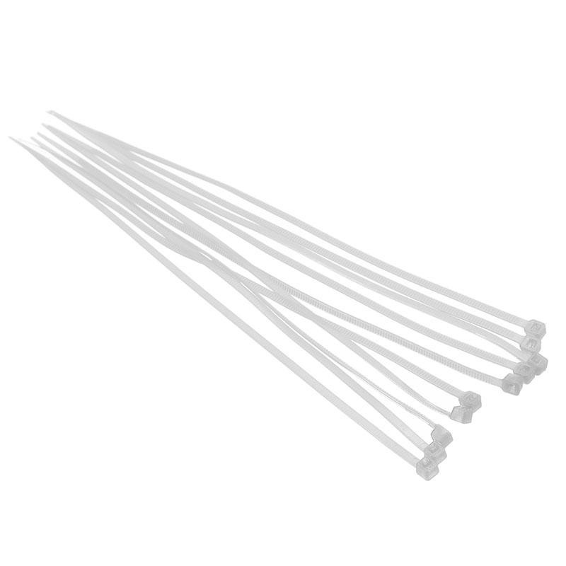 Bảng giá Mua 8pcs Self - locking Nylon Tie Belt for RC Model Aircraft Fittings White - intl