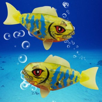 ... 2 Activated Powered Robo Fish Bathing Toy (Intl) - 3 ...