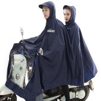 Áo mưa 2 đầu siêu nhẹ Hưng Việt (xanh đen)