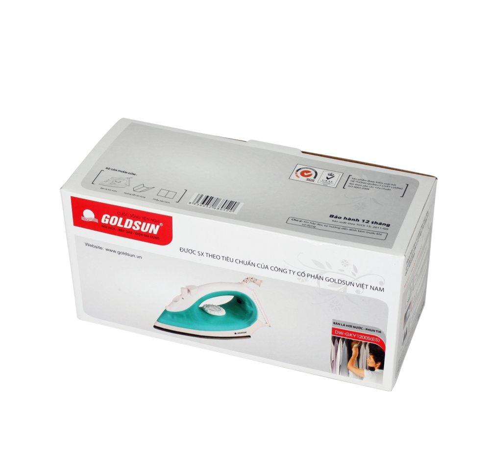Bàn ủi hơi nước Goldsun DW-GKY1200S(ES) (Xanh)