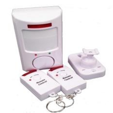 Báo động hồng ngoại cảm biến điều khiển từ xa HQ PLaza T356I  1(trắng) tặng dao gập thẻ ATM K 473