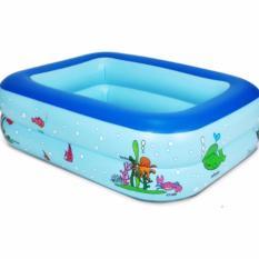 Bể bơi 2 tầng cho trẻ em 2017