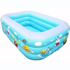 Bể Bơi 3 Tầng Cho Bé Loại 150cmx110cmx50cm