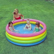 Bể bơi cầu vồng 4 tầng 168x46 model 56441