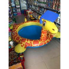 Bể bơi phao hươu cao cổ cho bé Quà tặng từ Abbott Grow