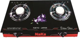 Bếp ga đôi hồng ngoại NaKa NK3878 (Đen)