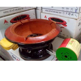 Bếp nướng có quạt Dế Mèn 24