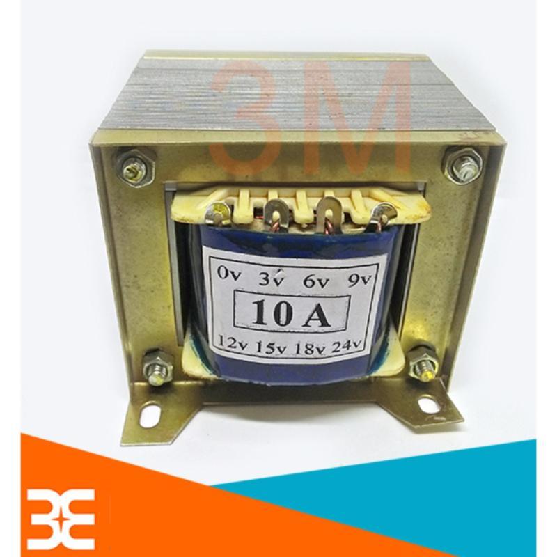Bảng giá Biến áp nhiều đầu ra 3V 6V 9V 12V 15V 18V 24V 10A 100% Dây đồng