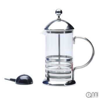 Bình pha trà và cà phê French Press Yi Tian 350ml (Inox)