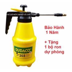 Bình tưới nước DUDACO cầm tay- vòi dài- béc xoay 180 độ-MỚI