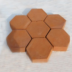 Black Hexagon Driveway Paving Pavement Stone Mold Stepping Pathmate Mould Paver - intl