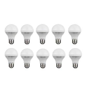 Bộ 10 bóng đèn led búp 12w (Trắng)