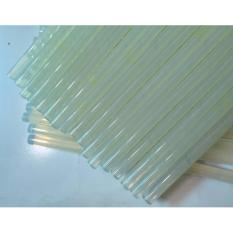 Bộ 10 cây keo nến,keo silicon chuyên dụng tiện lợi KCKN010 (Trắng)