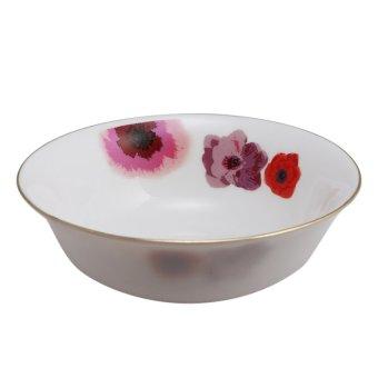 Bộ 12 món đồ dùng bàn ăn thủy tinh ngọc Vitriares 805-12V (Đỏ)