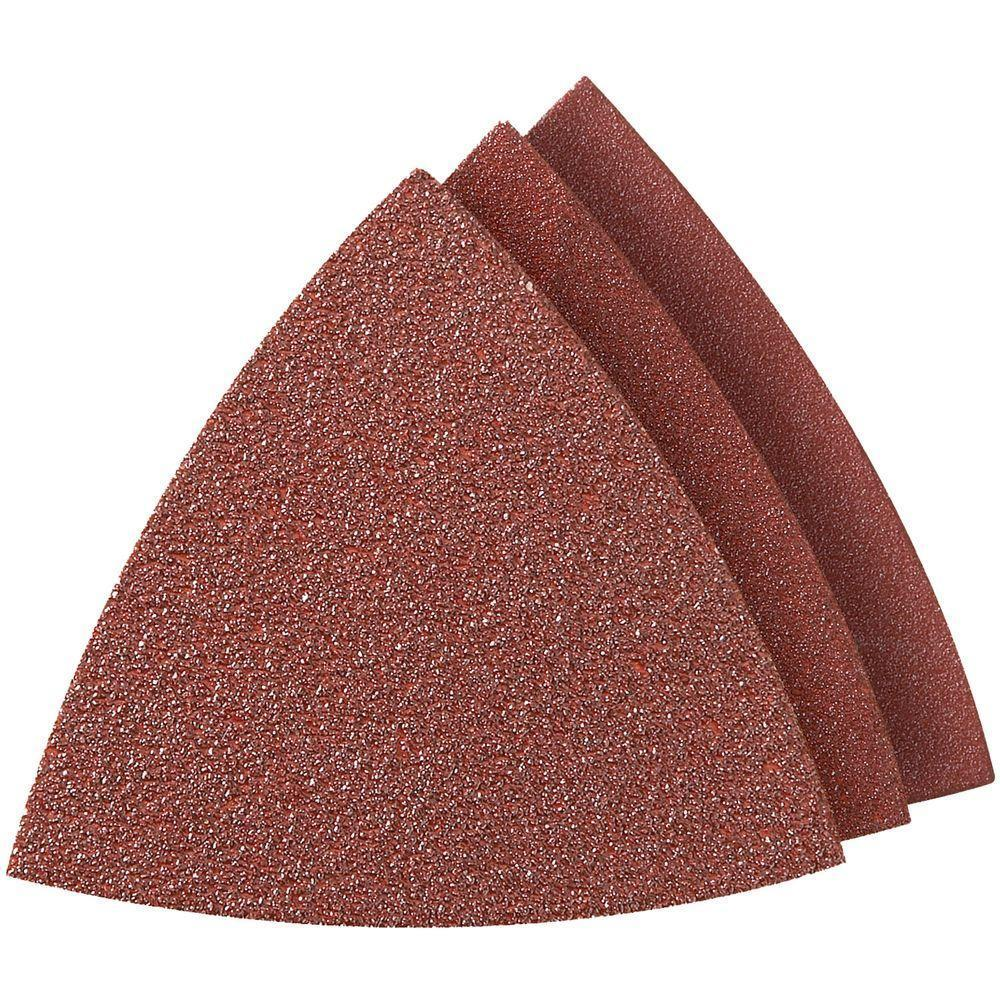 Bộ 15 giấy chà nhám rung đa năng kiểu tam giác