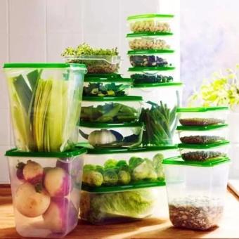 Bộ 17 hộp nhựa Cao cấp đựng thực phẩm