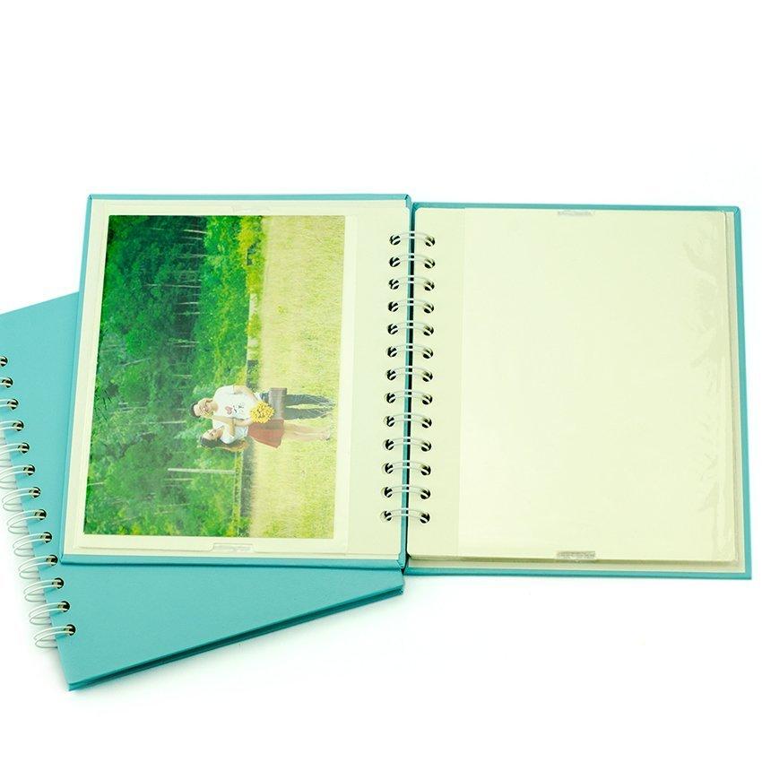 Bộ 2 album ảnh Monestar 13x18/40 hình - BRW570-20Bl (xanh)