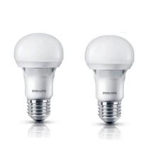 Bộ 2 bóng đèn Philips Ecobright LEDBulb 8-100W E27 6500K A60 (Ánh sáng trắng)