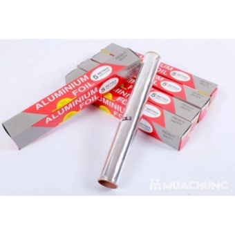 Bộ 2 cuộn giấy bạc bọc thức ăn đa năng và tiện dụng - 8539185 , OE680HLAA84SAHVNAMZ-15623546 , 224_OE680HLAA84SAHVNAMZ-15623546 , 119000 , Bo-2-cuon-giay-bac-boc-thuc-an-da-nang-va-tien-dung-224_OE680HLAA84SAHVNAMZ-15623546 , lazada.vn , Bộ 2 cuộn giấy bạc bọc thức ăn đa năng và tiện dụng