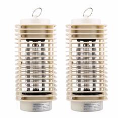 Bộ 2 đèn bắt muỗi và côn trùng hình tháp Tower 3D ( Trắng) RCB184