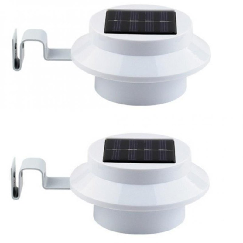 Bảng giá Mua Bộ 2 đèn cảm ứng thông minh năng lượng mặt trời 3 đèn led (trắng)
