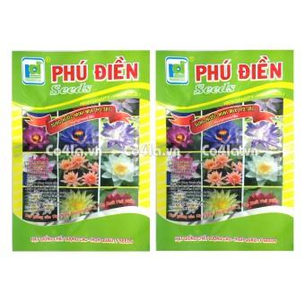 Bộ 2 gói Hạt giống Súng Thái mini (PD.38)