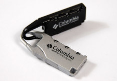 Bộ 2 khoá số mini Columbia (Đen và ghi)