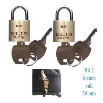 Bộ 2 ổ khóa vali 20mm Elis - 8128216 , EL018HLBCUQ0VNAMZ-990247 , 224_EL018HLBCUQ0VNAMZ-990247 , 109000 , Bo-2-o-khoa-vali-20mm-Elis-224_EL018HLBCUQ0VNAMZ-990247 , lazada.vn , Bộ 2 ổ khóa vali 20mm Elis