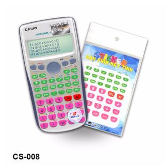 Bộ 2 stiker trang trí bàn phím máy tính (CS008)
