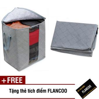 Bộ 2 túi vải đựng đồ size 50 Flancoo 0472 (Xám) + Tặng kèm thẻ tích điểm Flancoo - 8496584 , OE680HLAA2VRJDVNAMZ-4972695 , 224_OE680HLAA2VRJDVNAMZ-4972695 , 99000 , Bo-2-tui-vai-dung-do-size-50-Flancoo-0472-Xam-Tang-kem-the-tich-diem-Flancoo-224_OE680HLAA2VRJDVNAMZ-4972695 , lazada.vn , Bộ 2 túi vải đựng đồ size 50 Flancoo 0472 (Xá