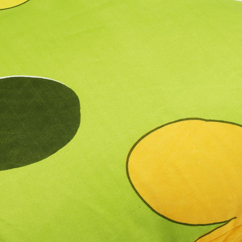 Bộ 2 vỏ gối nằm microfiber Angel 50 x 70 cm (Hoa nền xanh lá)