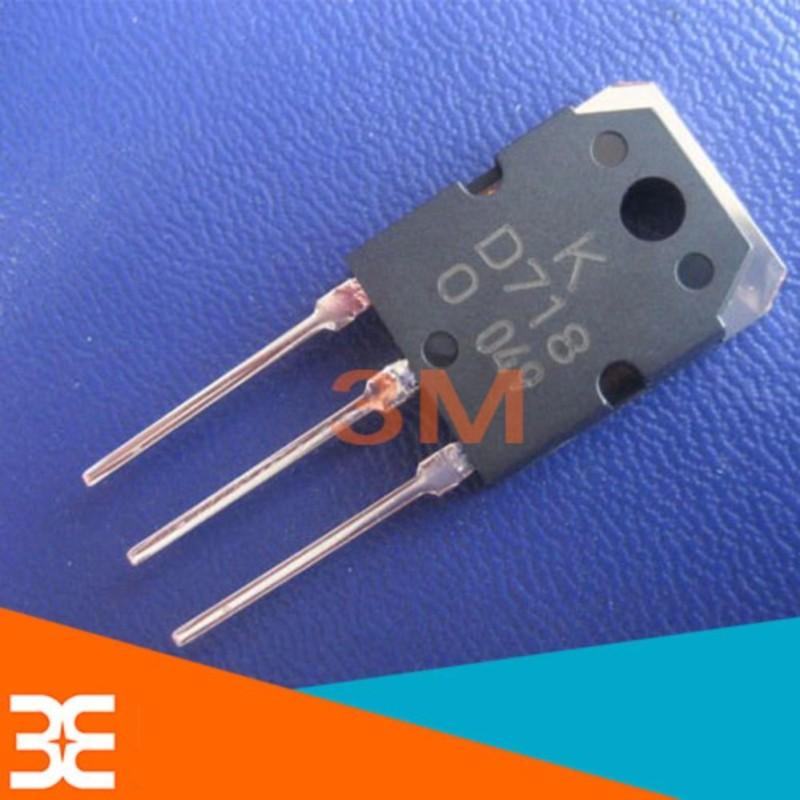 Bảng giá Bộ 3 Con Transistor D718 TO-247 NPN 8A 120V